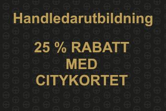 Handledarutbildning, citykortet